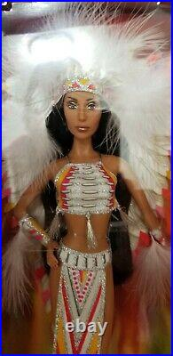 Cher Bob Mackie Barbie Doll 70's Indian Half Breed Outfit 2007 Mattel L3548 Nrfb