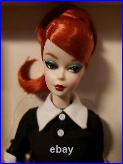 Classic Black Dress Redhead 2016 Paris Festival Silkstone Barbie Doll Dgx91