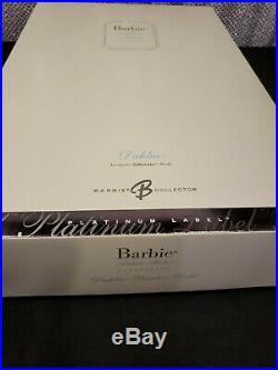 DAHLIA SILKSTONE BARBIE DOLL RARE PLATINUM LABEL 2006 MATTEL NRFB with shipper