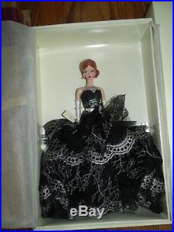 Dahlia Barbie Platinum Label Silkstone Fashion Model LE999 WithShipper RARE HTF