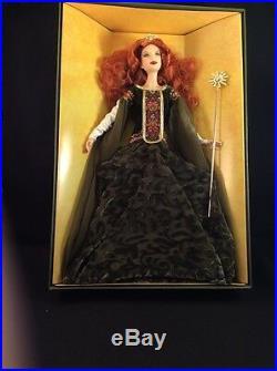 Deirdre of Ulster Barbie Doll Platinum Label Legends of Ireland Irish Celtic