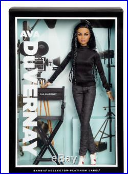 Director Ava DuVernay Barbie doll PLATINUM SERIES LABEL