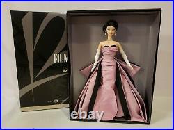 Film Noir 2006 National Convention Barbie Doll Platinum Mattel J1802 Signed Nrfb