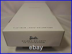 Golden Galaxy 2017 Us Convention Barbie Doll Platinum Label Mattel Dyx82 Nrfb