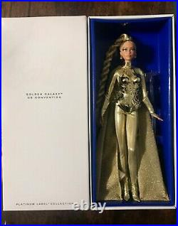Golden Galaxy Barbie 2017 US Houston Convention, Only 650 Made Platinum Label