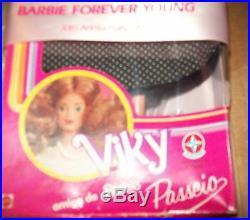 Htf Rare Viky Amiga Da Barbie Passiero Mib