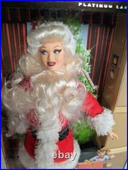 I Love Lucy Barbie Ethel Mertz Santa Doll'07 Mattel Platinum Label Lucille Ball