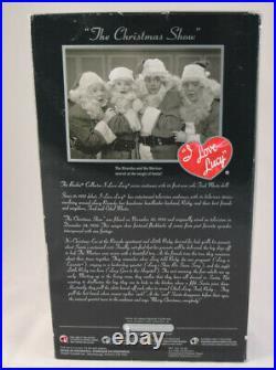I Love Lucy Christmas Show, Fred Mertz Santa Claus, Barbie Platinum, Free Ship