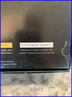 Judith Leiber Barbie Doll- IN BOX- Platinum Label HTF