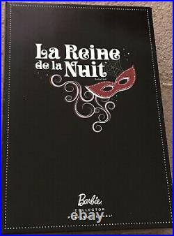 La Reine de la Nuit 2013 National Barbie Convention. Signed! RARE