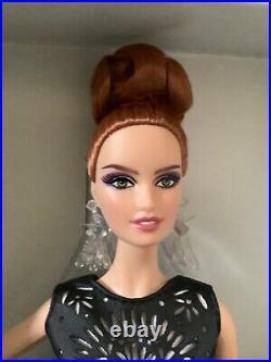 Laser Leatherette Barbie Black White Collection Platinum Label BCR07 NRFB