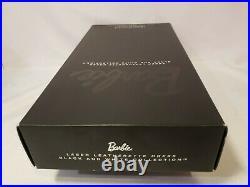 Laser Leatherette Dress Barbie Doll Bfc Black White 2013 Platinum Mattel Bcr07