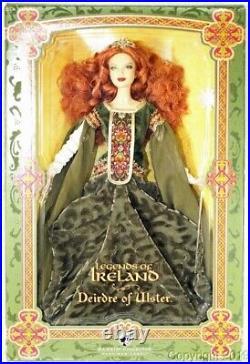 Legends of Ireland Deirdre of Ulster Platinum Label Barbie MNRFB