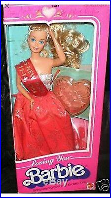 Loving You Barbie Loves N. Y. Convention Doll signed