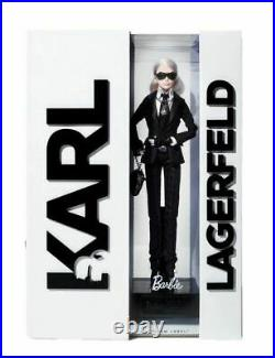 MIB the 2014 KARL LAGERFELD Platinum Label BARBIE Collector Doll 106 of 999 RARE