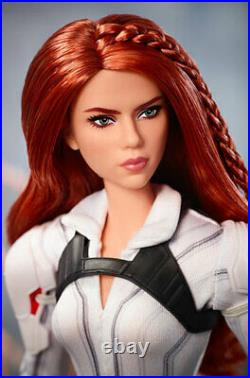 Marvel Studios' Black Widow Barbie Doll Mattel #GHT82 Platinum label NRFB 2020