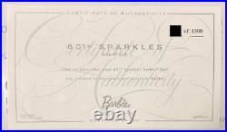 Mattel Barbie Platinum label Convention in Japan 2019 60th sparkle barbie