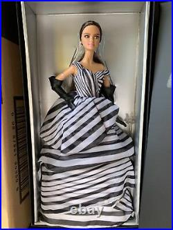 Mattel Chiffon Ball Gown Black And White Collection Barbie Doll Platinum Label