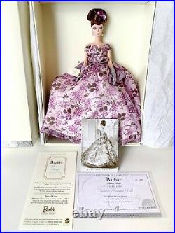 Mib 2005 Platinum Label Violette Silkstone Barbie Doll