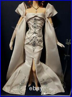 Midnight Celebration 2014 National Convention Barbie Doll Platinum Mattel Bdh43