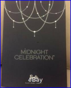 Midnight Celebration Barbie Doll Aa National Convention Platinum Label Nib