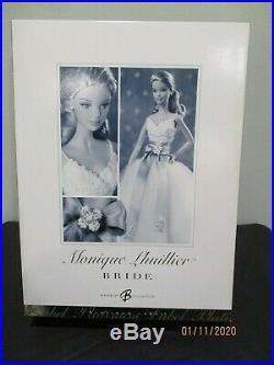 Monique Lhuillier Bride Barbie Doll 2006 Platinum Label Mattel #j0975 Mint Nrfb
