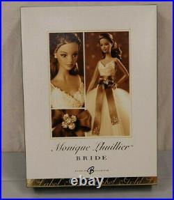 Monique Lhuillier Bride Barbie Doll Platinum Label J0975 Kept In Box but Opened