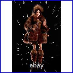 NIB Barbie Mattel Barbie Star Wars Chewbacca Platinum Label NEVER OPENED