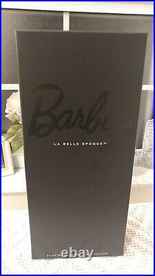 NRFB 2012 La Belle Epoque Paris Fashion Doll Festival BARBIE Platinum Label #301