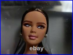 NRFB B&W Chiffon Ball Gown Barbie Doll Platinum Label 729 of 999. FREE SHIPPING