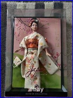 NRFB Japan Barbie Doll. Platinum Label FREE SHIPPING