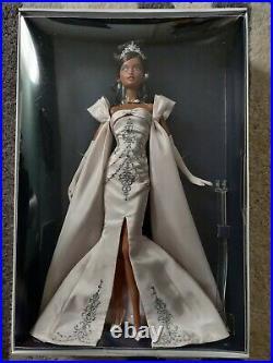 NRFB Midnight Celebration Barbie Doll AA. 63 of 300 Platinum Label FREE SHIPPING