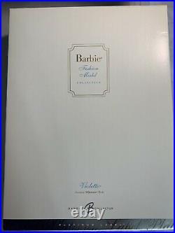 NRFB RARE PLATINUM LABEL VIOLETTE SILKSTONE BARBIE 2005 MATTEL BFMC Pre-Owned