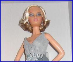 NRFB Splash of Silver Barbie with Shipper. Platinum Label