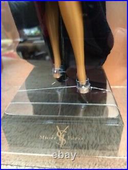 NRFB Yves Saint Laurent YSL Musee Paris Evening Gown Barbie Doll Mattel