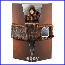 New 2020 Star Wars Barbie Doll Chewbacca Platinum Label Fur Fashion Asian Face