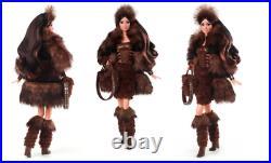 New 2020 Star Wars Chewbacca Barbie Doll Nrfb Platinum Le