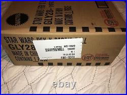 New NRFB 2020 STAR WARS Rey BARBIE DOLL Gold Label Barbie With Shipper Box