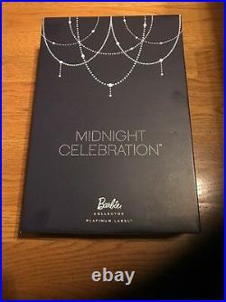 New Year's MIDNIGHT CELEBRATION 2014 NBDC CONVENTION Barbie Platinum BDH43 NRFB