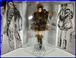 Nrfb Barbie N101 Platinum Label Star Wars Chewbacca X Model Muse Lea Doll