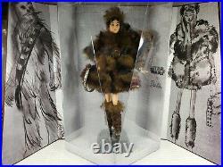 Nrfb Barbie N841 Platinum Label Star Wars Chewbacca X Model Muse Lea Doll