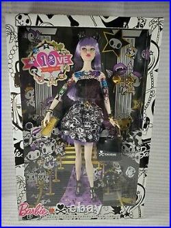 Nrfb Barbie (n100) Barbie Doll Tokidoki Platinum Label Purple Raven Karl Mib