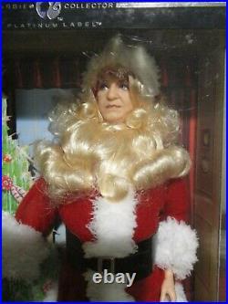 PLATINUM LABEL I Love Lucy SANTA FRED MERTZ Barbie Doll Christmas Show RARE