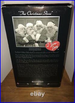 PLATINUM LABEL I Love Lucy SANTA FRED MERTZ Barbie KEN Doll CHRISTMAS Show RARE