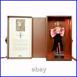 PLATINUM LABEL Yves Saint Laurent BARBIE Dolls Set of 2 SOLD OUT mint in box NEW