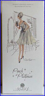 Pinch of Platinum Barbie Doll #T7680 2011 Mattel NRFB Platinum label
