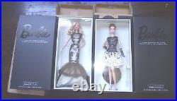 Platinum 2015 Classic Evening Gown Barbie Black & White Collection