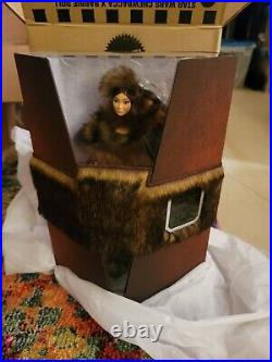 Platinum Label Chewbacca X Star Wars Barbie Doll With Faux Fur Coat & Boots