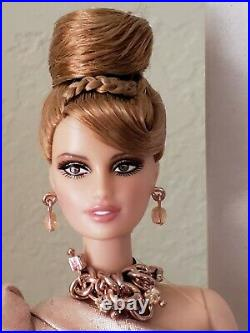 Platinum Label Rush of Rose Gold Barbie Fan Club Doll 4th in Series