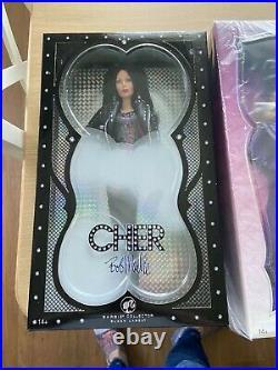 Platinum Ringmaster Cher Barbie, 80's Bob Mackie and Half Breed Cher Barbies